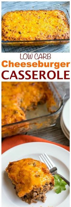 LOW CARB BACON CHEESEBURGER CASSEROLE – KETO FRIENDLY - Grandma Best Recipes