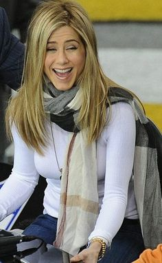 love the scarf and the white turtleneck