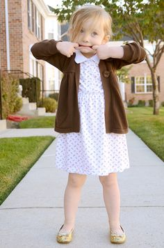 isly-refashion-granny-polo-to-toddler-dress-- TIPS FOR GATHERING