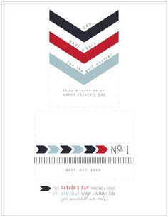 father's day printable.