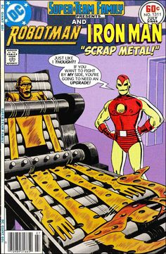 Super-Team Family: The Lost Issues!: Robotman and Iron Man (Part One)