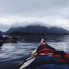 worn-in-perfection:  Skiing yesterday, sea kayaking today. I...