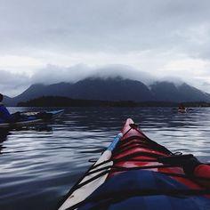 sea kayaking in BC