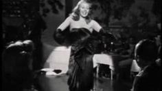 [Gilda] Put The Blame On Mame - 1946.    Rita Hayworth a classic song in a classic satin gown.