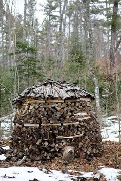 holz hausen- stack it right :)