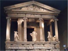Greek Temple British Museum London England