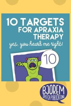 Saaaaay WHAT? Yup, you heard me right! 10 targets (or less) is all you need for childhood apraxia of speech therapy! 🤯 #speechtherapy #childhoodapraxiaofspeech #speechtherapist #bjoremspeech Childhood Apraxia Of Speech, Phonological Awareness, Early Literacy, Dyslexia, Speech Therapy, Yup, Target, Activities, Blog