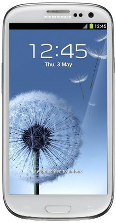 SAMSUNG GALAXY SIII GT-i9300 16GB MARBLE WHITE-  WITH IN BUILT SUPER AMOLED PLUS TOUCHSCREEN. 8MP CAMERA, WI-FI, GPS, RADIO, BLUETOOTH, ANDROID OS, NO NETWORK LOGO OR BRANDING. FACTORY UNLOCKED TO USE WITH WORLDWIDE COMPATIBLE NETWORKS. FULLY BOXED & SEALED WITH STANDARD ACCESSORIES.