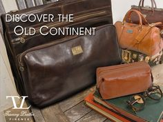 Find your taste for #travel with our proposal! Travel bags, Garment leather bag and accessories for your dream weekend.