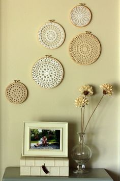 wall art diy | 10 Cool Lace Artworks You Can Make For Your Walls » Photo 8