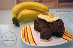 Ζουμερό κέικ μπανάνα