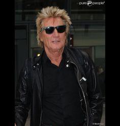 Rod+Stewart+2015 | Rod Stewart à l'aéroport Heathrow de Londres. Le 11 septembre 2014