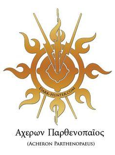 Acheron's name in Greek