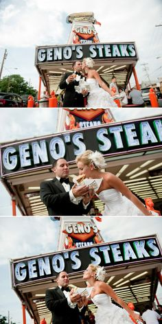 Give me some sugar. And cheesesteak. (Photos by Stephan Maloman of Maloman Photographers)