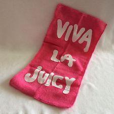 juicy coutore viva la juicy pink letters | NEW Barbie Doll Viva La Juicy Couture Pink Beach Towel Model Muse
