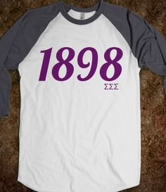Sigma Sigma Sigma: 1898. Love this!