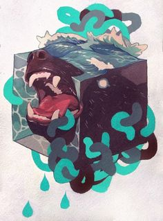 Works II by SACHIN TENG, via Behance
