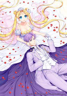 Princesa serenity *-* Sailor moon ♡