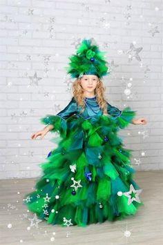 Продам карнавальный костюм елочка