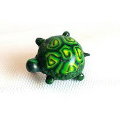 Fimo turtle Turtle, Brooch, Instagram Posts, Animals, Fimo, Brooch Pin, Animais, Turtles, Animales