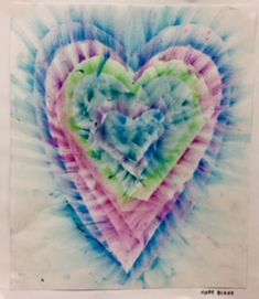 Kim & Karen: 2 Soul Sisters (Art Education Blog): Smeared Hearts