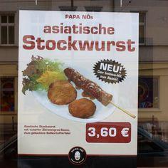 asiatische Stockwurst / Berlin