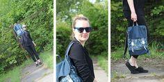 Eine Idee wächst. Ich habe mir ein Rucksack genäht ... Als Schnittmuster im Shop von Kreativlabor Berlin zu kaufen.