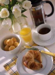 Continental breakfast. Traditional selection of breakfast...