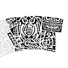 Marquesan armband tattoo