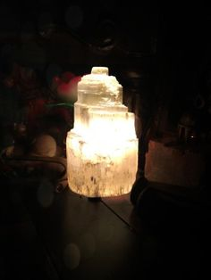 Selenite is a stone of mental clarity, and improves one's connection with the divine. Selenite can be used for scrying into the past, presen...