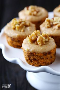 Intrigued. Carrot cake is my favorite type o cake  From gimme some oven   Raw Carrot Cake w/ Cashew Vanilla Frosting