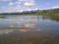 El río motagua por la parte de Quirigua, Los Amates, Izabal.