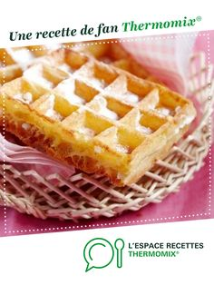 Waffle batter – Waffle dough by thermomix. A fan recipe to find in the Breads & Viennoiseries category on www.espac – Waffle batter – Waffle dough by thermomix. A fan recipe to find in the Breads & Viennoiseries category on www. Thermomix Desserts, No Cook Desserts, Dessert Recipes, Crepes, Brookies Recipe, Cooking Chef, Tart Recipes, Waffles, Breakfast