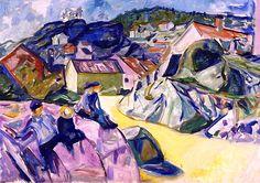 Children on the Crag Edvard Munch - 1910