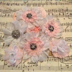 Shabby Chic Ruffle Flower created by Bona Rivera-Tran.