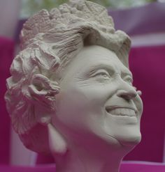 Bust sculpture HM Queen Elizabeth II