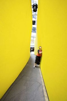Interactive Lemon Laneways: 'The Meeting Place' Brings Strangers Together Interactive Art, Meeting Place, Pavilion, Pop Up, Bring It On, Places, Experiential, Lemon, Interiors
