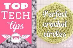 Top Tech Tips – the perfect crochet circle | Cara Medus