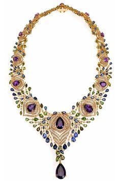 Exotica necklace, Ganjam http://www.vogue.in/content/jewellery-report-2012-peacock#4
