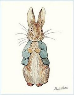 Peter Rabbit illustrations by Beatrix Potter - one of my favorite things from childhood. Rabbit Illustration, Illustration Art, Beatrix Potter Illustrations, Beatrice Potter, Peter Rabbit And Friends, Bunny Art, Vintage Easter, Childrens Books, Creatures
