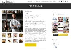 Gildas Périn the 46th Chefs on Kings of Kitchen Lives in Taipei and winner of the Challenge du Président de la République française