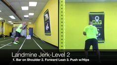 Landmine Jerk - #ShoulderTips