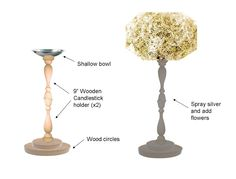 Harlow & Thistle: DIY Wedding Centerpieces