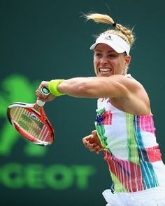 Angelique Kerber (Credit WTA) - Miami Open 2016 Next Court for you is Centre on Saturday to your credit you have beaten her before.