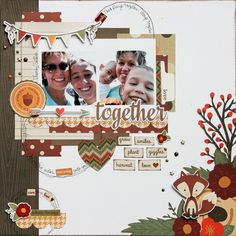 Layout: Love Together **Simple Stories DT**