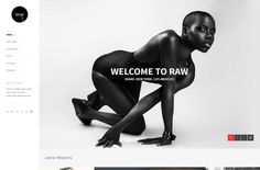 Raw HTML5 Template