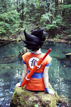 Goku from Dragon Ball.