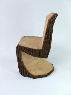 Wood en Chair great for boys and their outdoor space