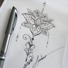 Symbol Tattoos, Body Art Tattoos, New Tattoos, Back Tattoo Women Upper, Upper Back Tattoos, Sleeve Tattoos For Women, Tattoos For Women Small, Lotus Tattoo, Arm Tattoo