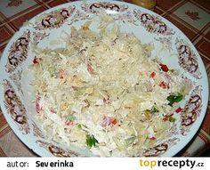 Vitamínový salát recept - TopRecepty.cz Grains, Rice, Food, Diet, Red Peppers, Essen, Meals, Seeds, Yemek